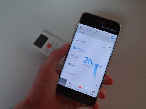 Come utilizzare i climatizzatori Samsung da remoto con lo smartphone.
