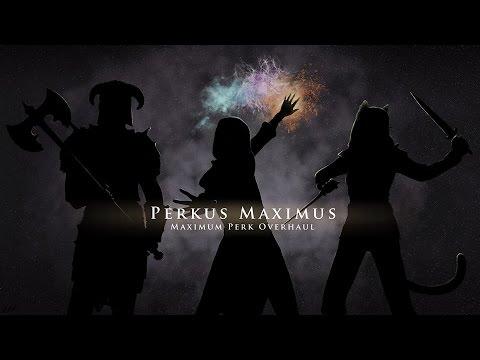 SKYRIM MOD TESTING: Perkus Maximus (PerMa) – Armor #2 and Block