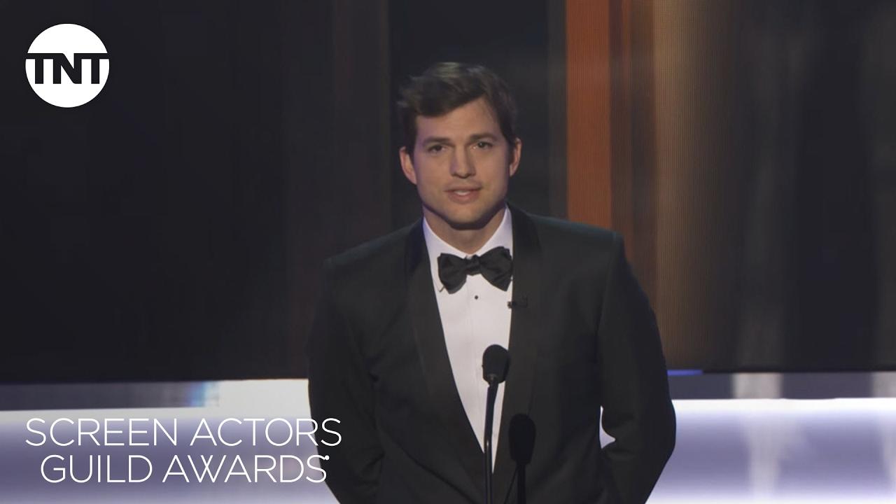 Ashton Kutcher: Opening Monologue | 23rd Annual SAG Awards | TNT