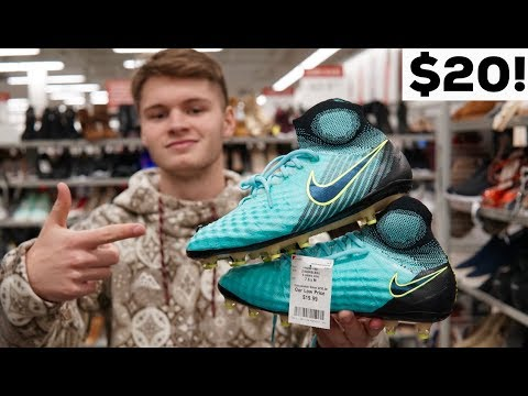 INSANE Soccer Cleat Deal Hunt! $300 Boots For $20?!