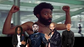 Video Celebrities React To 'This Is America' Music Video by Childish Gambino MP3, 3GP, MP4, WEBM, AVI, FLV Mei 2018