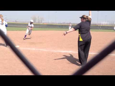 2013 Bellevue Softball Highlight video
