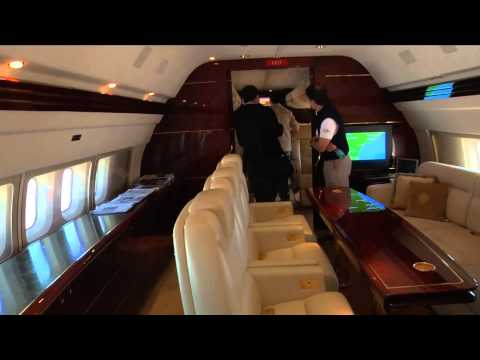 WPDE's inside look at Donald Trump's private jet