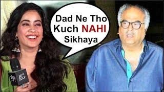 Video Jhanvi Kapoor's FUNNY Reaction On Dad Boney Kapoor At Dhadak Movie Trailer Launch MP3, 3GP, MP4, WEBM, AVI, FLV Juni 2018
