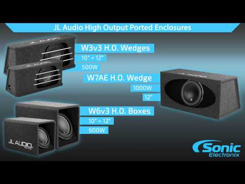 JL Audio H.O. Wedge Subwoofer Systems | Product Overview