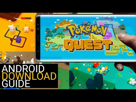 Install Pokemon Quest To Your Android Device (Full Tutorial With APK & OBB Download Links)
