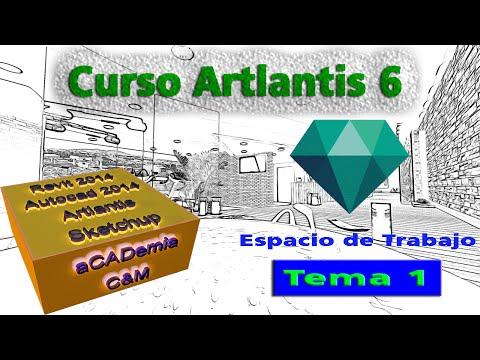 Artlantis 6 Para Principiantes TEMA 1 - Espacio de Trabajo