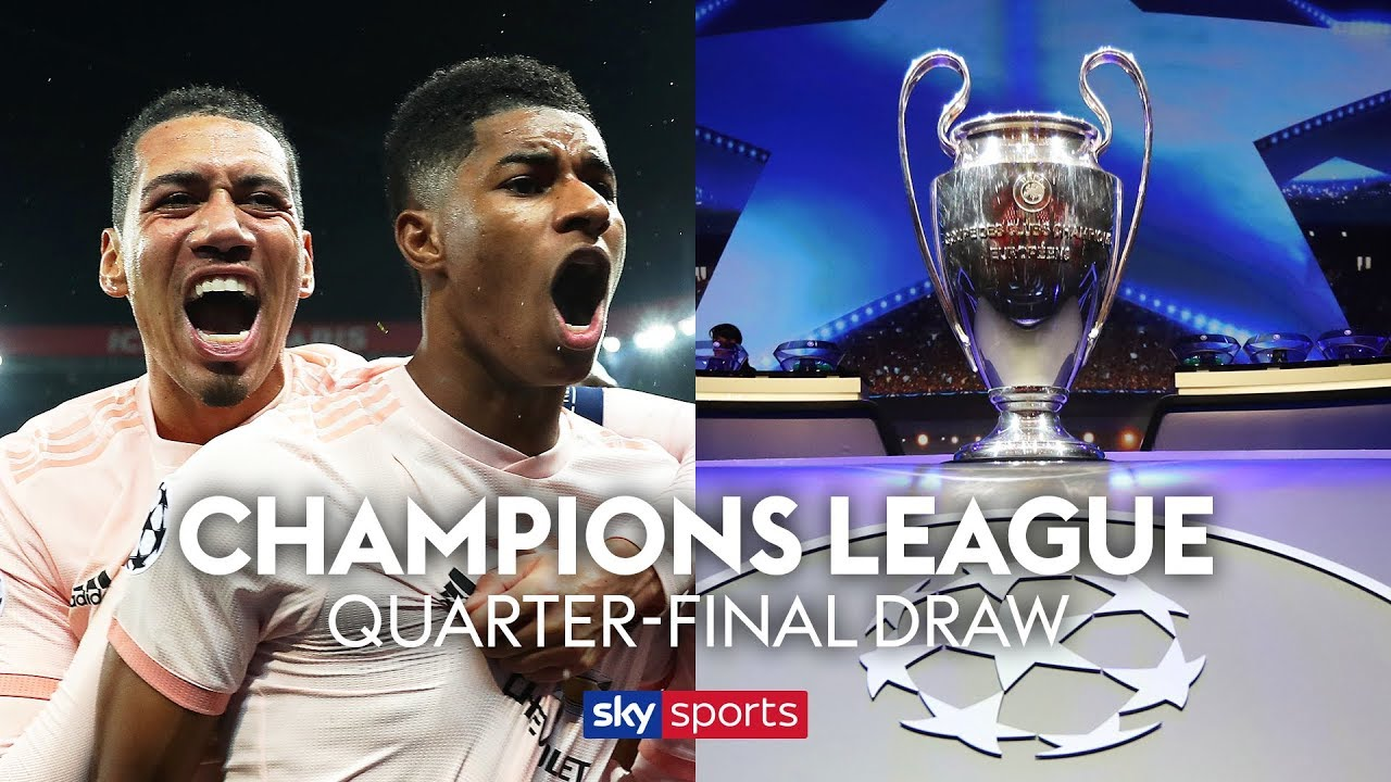 LIVE! Champions League Quarter Finals draw!