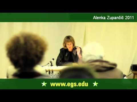 Alenka Zupancic. Die Phantasie des spekultiven Realismus. 2011