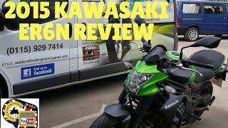 7. Brief 2015 Kawasaki ER6n ABS review.
