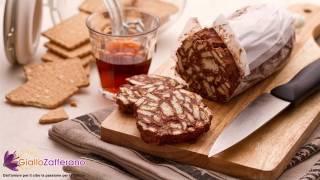 Chocolate salami ( salame al cioccolato ) Italian recipe