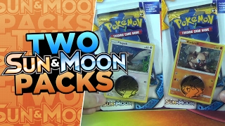Opening BOTH Pokemon SUN & MOON Checklane Blister Packs featuring Pikipek & Rockruff by ThePokeCapital