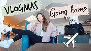 Going home for the Holidays   Vlogmas by Meredith Foster