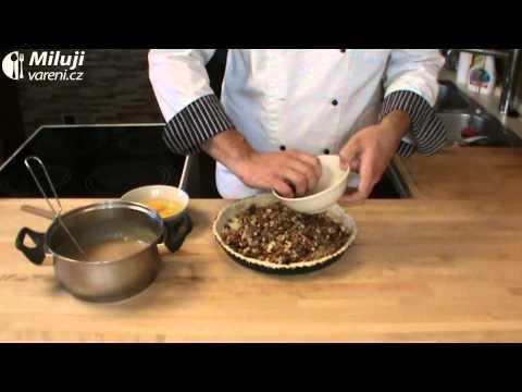 Pekanový koláč s javorovým sirupem