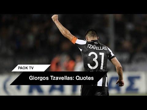 Giorgos Tzavellas on PAOK TV