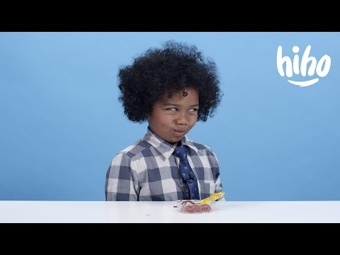 American Kids Try Candy from Around the World