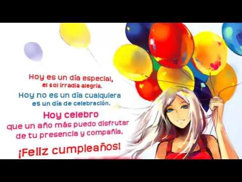 Frases de cumpleaños - Feliz Cumpleaños Frases- Frases De Felicitacion De Cumpleaños-Cumplas Feliz