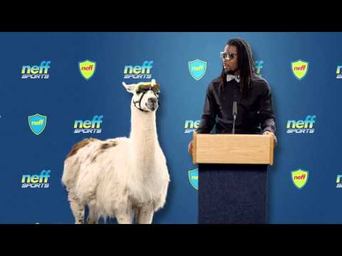 Who would have thought Sherm needed a spokesman?