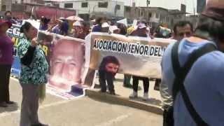 Marcha por la paz:  Exigen a alcalde velar por la seguridad ciudadana