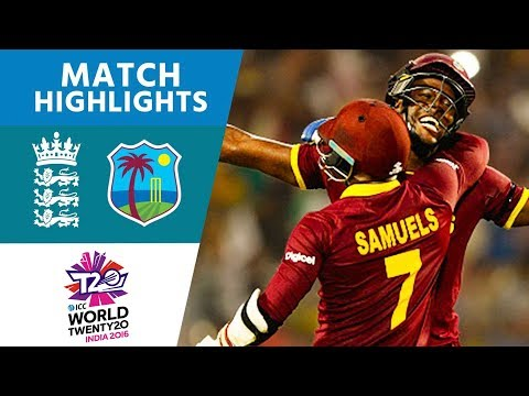 2018 ஆம் ஆண்டின்  உலகக்கிண்ண  இறுதிப்போட்டியின் விறுவிறுப்பான தருணங்கள்   !!!  Brathwaite Hits 4 Sixes To Win! | England vs West Indies | ICC Mens #WT20 FINAL  Highlights