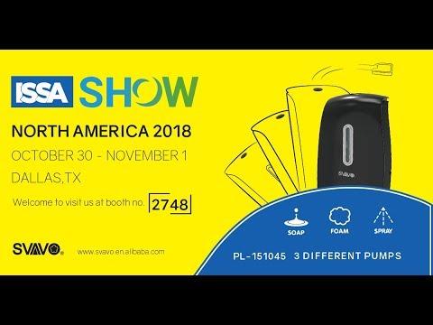 SVAVO @ ISSA SHOW NORTH AMERICA 2018