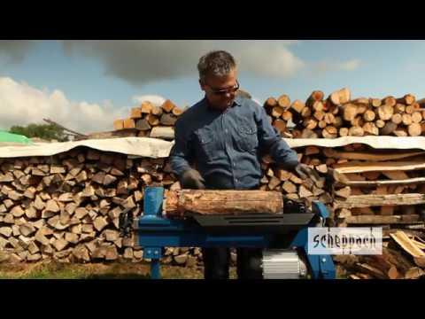 Scheppach Holzspalter HL650 6,5 Tonnen Spaltkraft