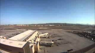 Phoenix Sky Harbor Airport -TimeLapse