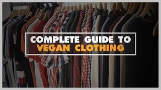 Vegan Clothes