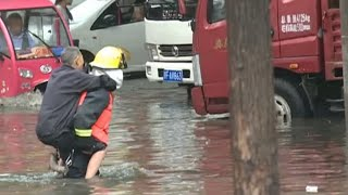 Xiangyang (Hubei) China  City new picture : Torrential Rain Creates Severe Flooding in China's Hubei Province