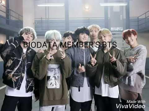 Biodata members bts