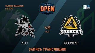 GODSENT vs AGO, game 2