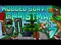 Minecraft: Modded Christmas Survival Let's Play w/Mitch! Ep. 7 - Candy Licorice Armor!