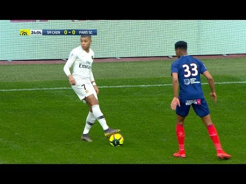 Kylian Mbappe Top 20 Awesome Skill Moves 2018/2019
