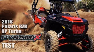 9. 2018 Polaris RZR XP Turbo Dynamix Edition Test Review