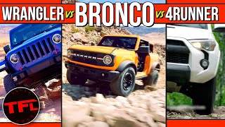 Game Changer! Here's How the 2021 Ford Bronco Stacks Up Against The Jeep Wrangler & Toyota 4Runner by The Fast Lane Car