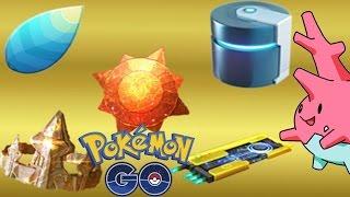 Pesquisa Localização Corsola + Probabilidade Itens de Evolução + Poketrack by Pokémon GO Gameplay