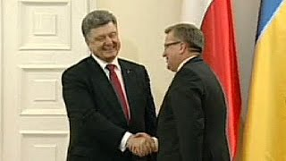 Ukraine: Conflict could soon be over says optimist President Poroshenko