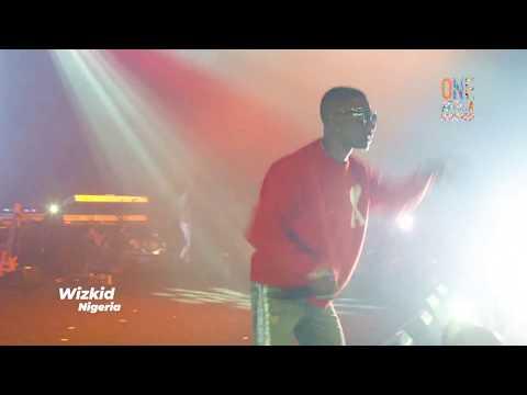 Wizkid's Full Performance At The One Africa Music Fest Dubai 2018