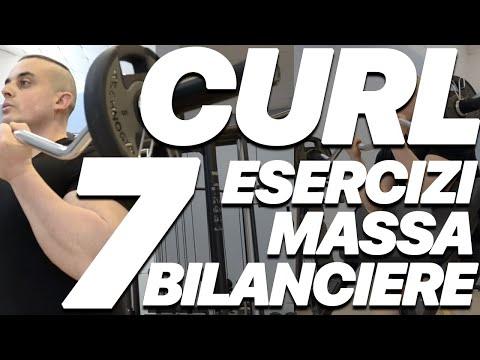 I 7 migliori esercizi per bicipiti con il bilanciere
