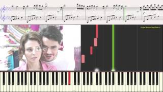 Лестница в небеса (Тема) (Ноты для фортепиано) (piano cover)