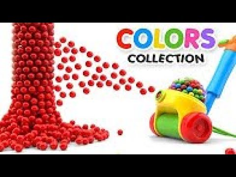 Learn Colors with Color Balls Machine - Colors Videos Collection
