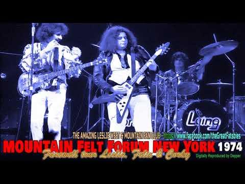 Leslie West MOUNTAIN Farewell Tour Madison Square Garden's Felt Forum 12-31-74 (видео)