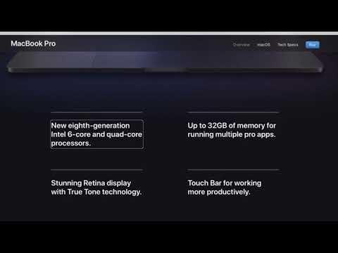 Huge MacBook Pro refresh