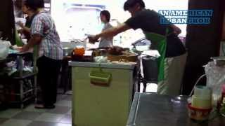 Thai Food Review: Rice With Crispy Pork Belly / Khow Moo Krob / ข้าวหมูกรอบ