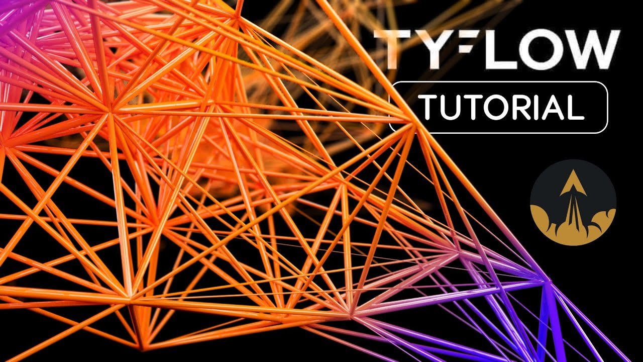 video/using tyflow 3ds max tutorial