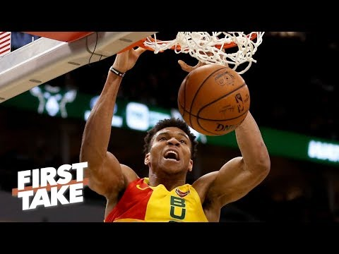 Giannis has become as dominant as Shaq - Max Kellerman | First Take