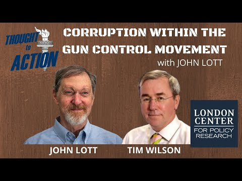 Exposing Corruption Within the Gun Control Movement with John Lott