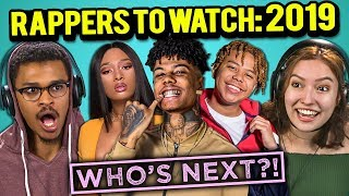Video College Kids React To 10 Rappers To Watch In 2019 (Blueface, YBN Cordae, City Girls) MP3, 3GP, MP4, WEBM, AVI, FLV Maret 2019
