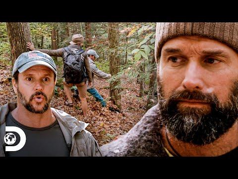 Joe y Matt pierden el rumbo en montañas de Pensilvania | Desafío X 2 | Discovery Latinoamérica
