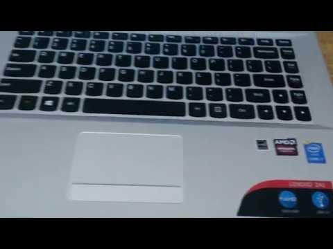 First Look - Lenovo z41 - Intel i7 - 8 Gb RAM
